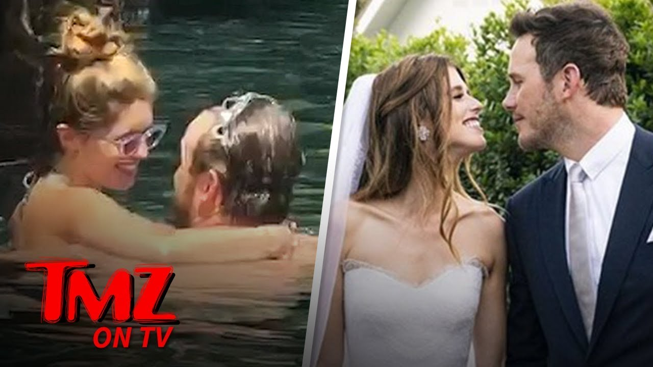 Chris Pratt, Katherine Schwarzenegger Show PDA on Hawaii Honeymoon | TMZ TV 5
