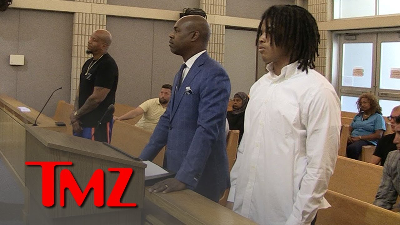 Kevin Hunter Sr. and Kevin Hunter Jr. Appear in Front of Judge | TMZ 1