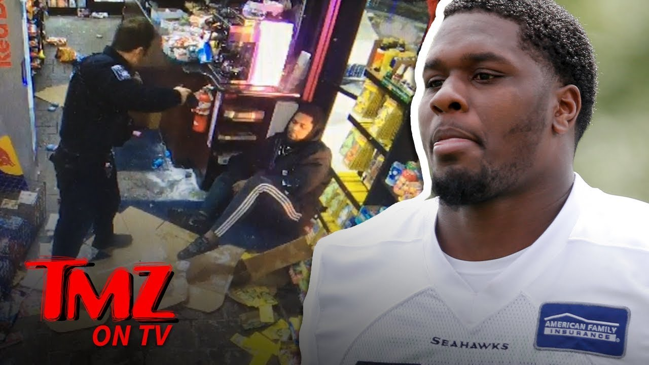 NFL's Star Fights Cop AFTER Being Tased! | TMZ TV 1